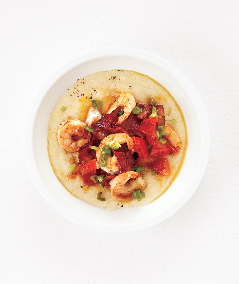 Smoky Shrimp and Grits