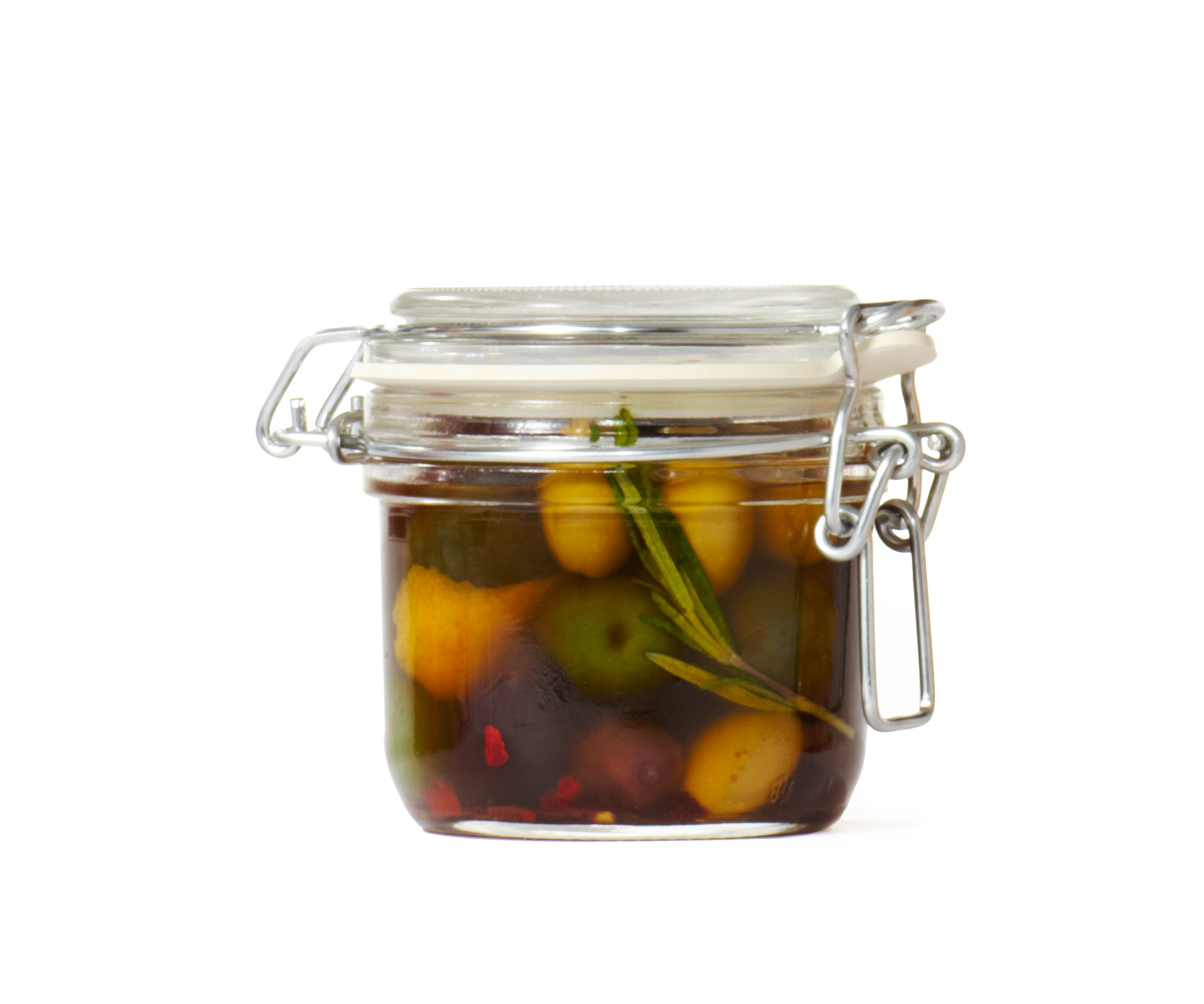 Spicy Citrus Olives