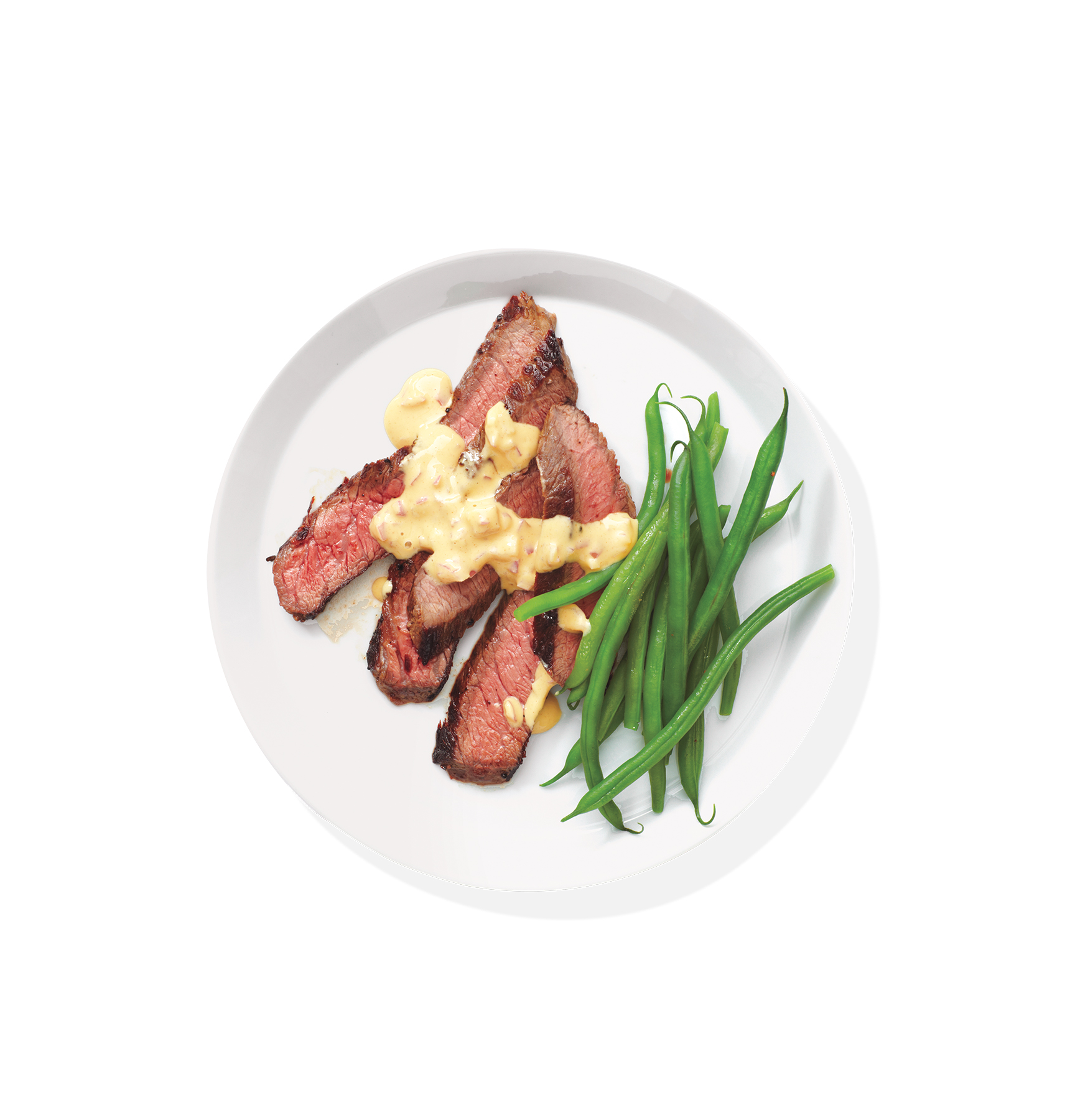 Steak With Mustard-Shallot Sauce