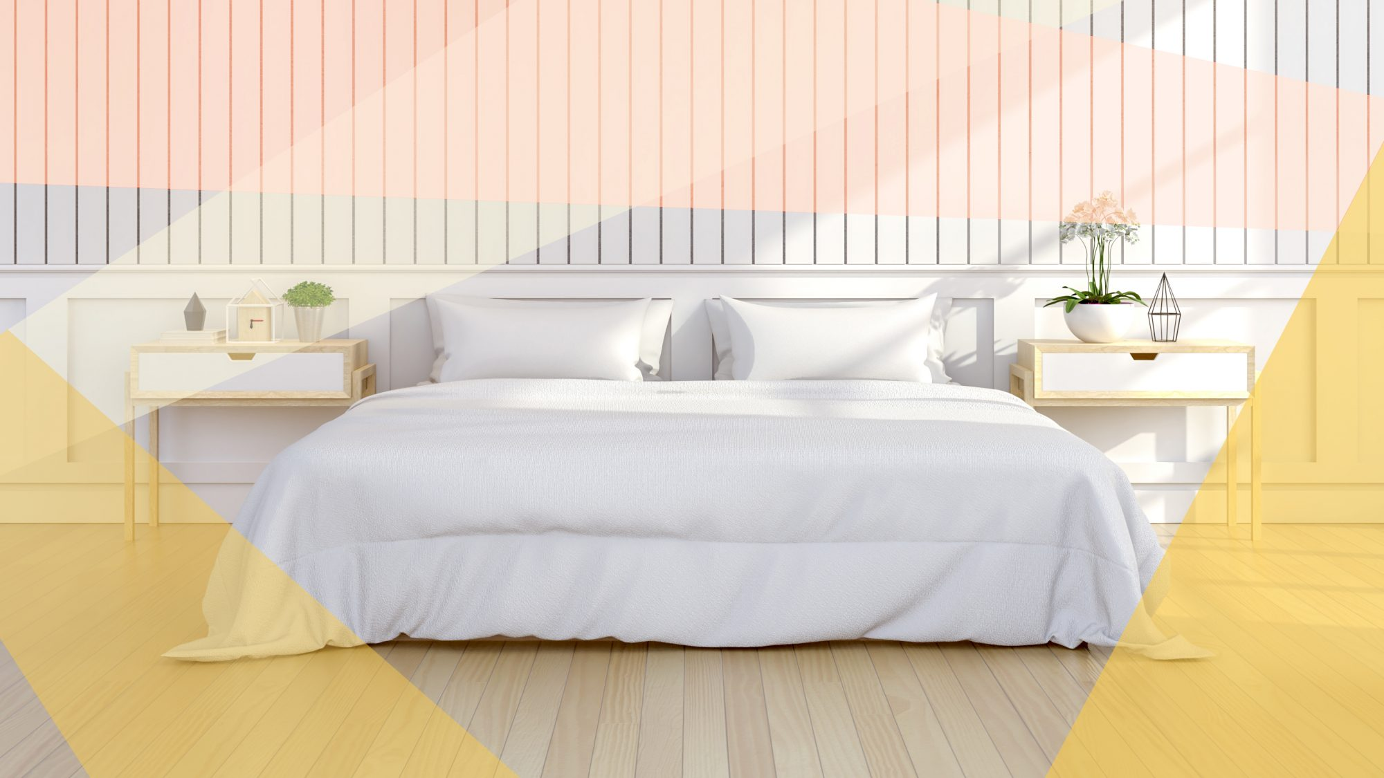 How to Make Your Bed Cool for Summer, white bedding