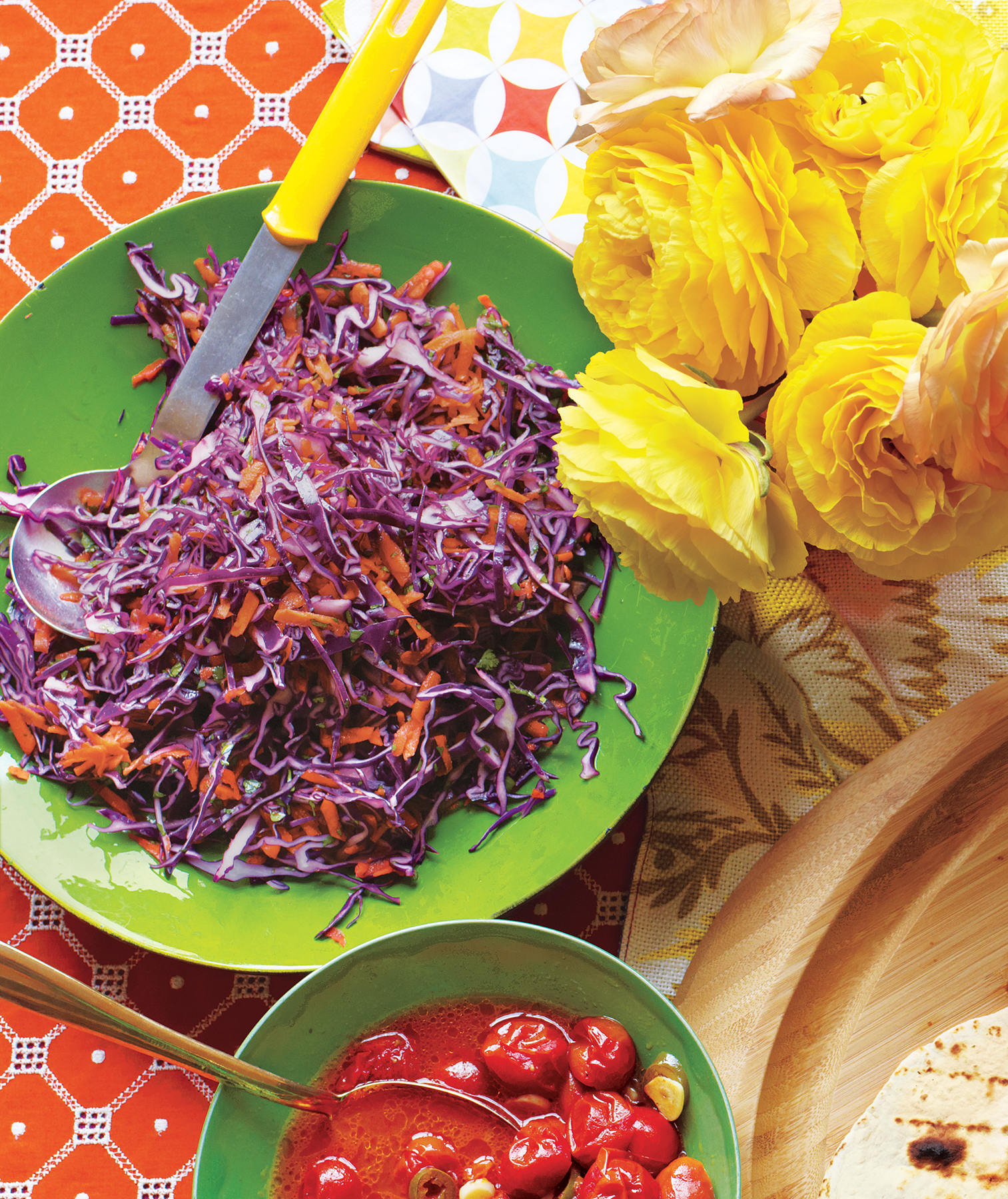 Tangy Red Cabbage Slaw