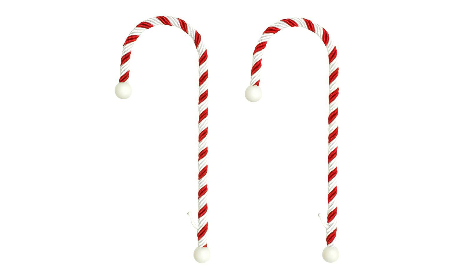 Candy Cane Stocking Holder