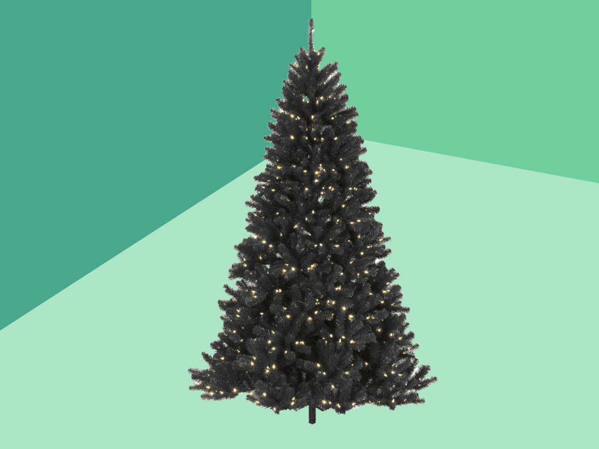 Best Artificial Christmas Trees Best Black White And Colored