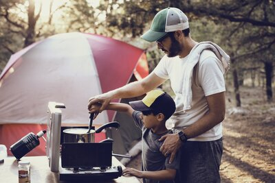 Christmas In July Camping Ideas.Camping With Kids Real Simple
