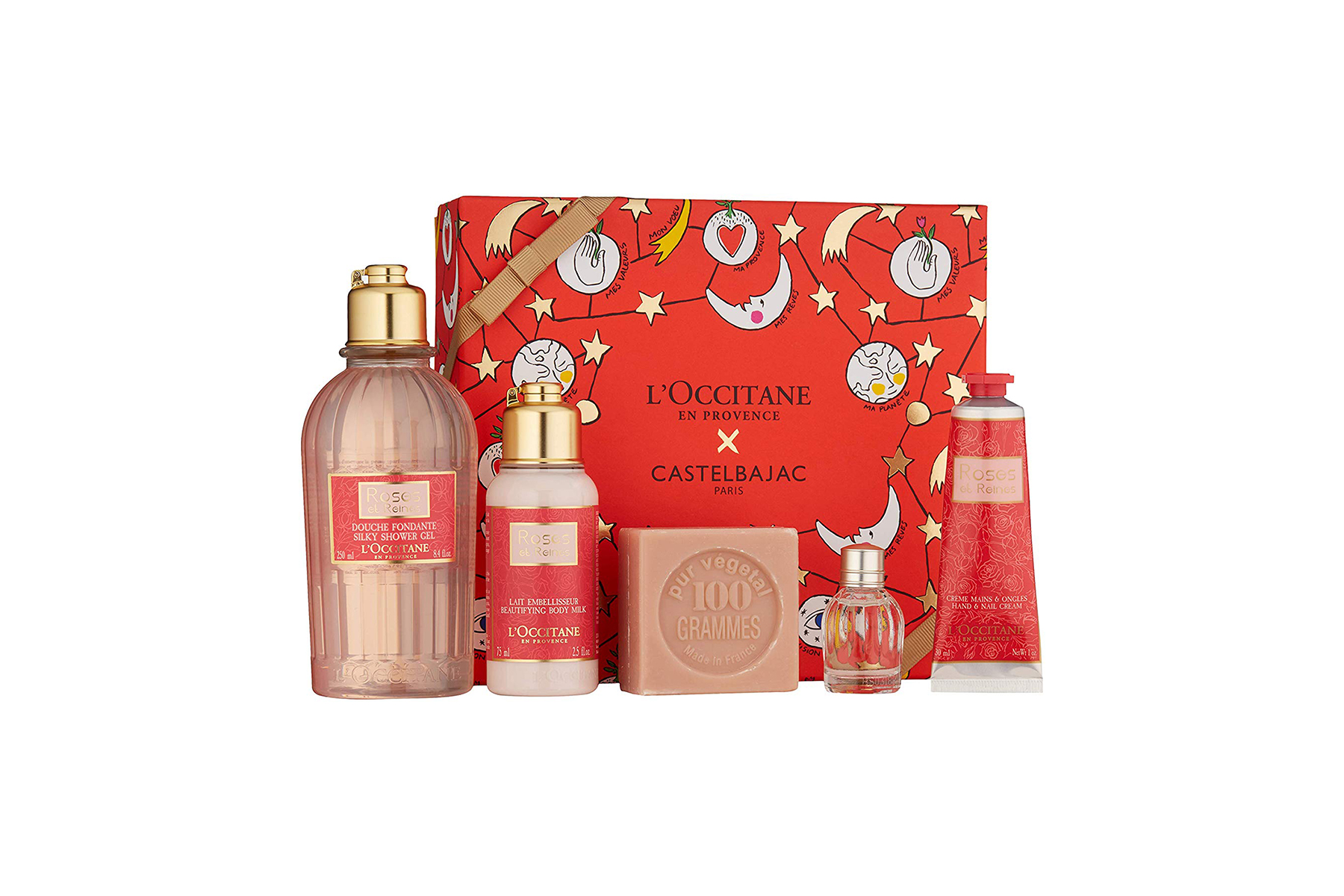 L'Occitane Silky Roses Bath and Body Set