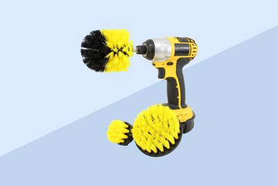 Power Scrubber Drill Cleaning Brush Sale on Amazon | Real Simple