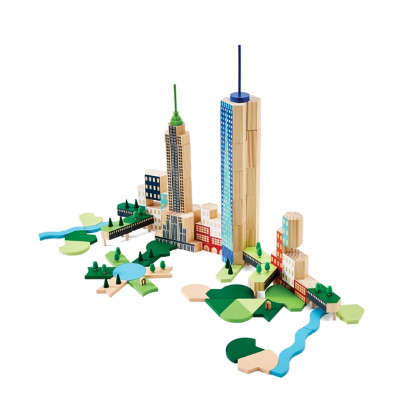 Cool gifts for kids - Areaware Blockitecture Big Apple Building Blocks