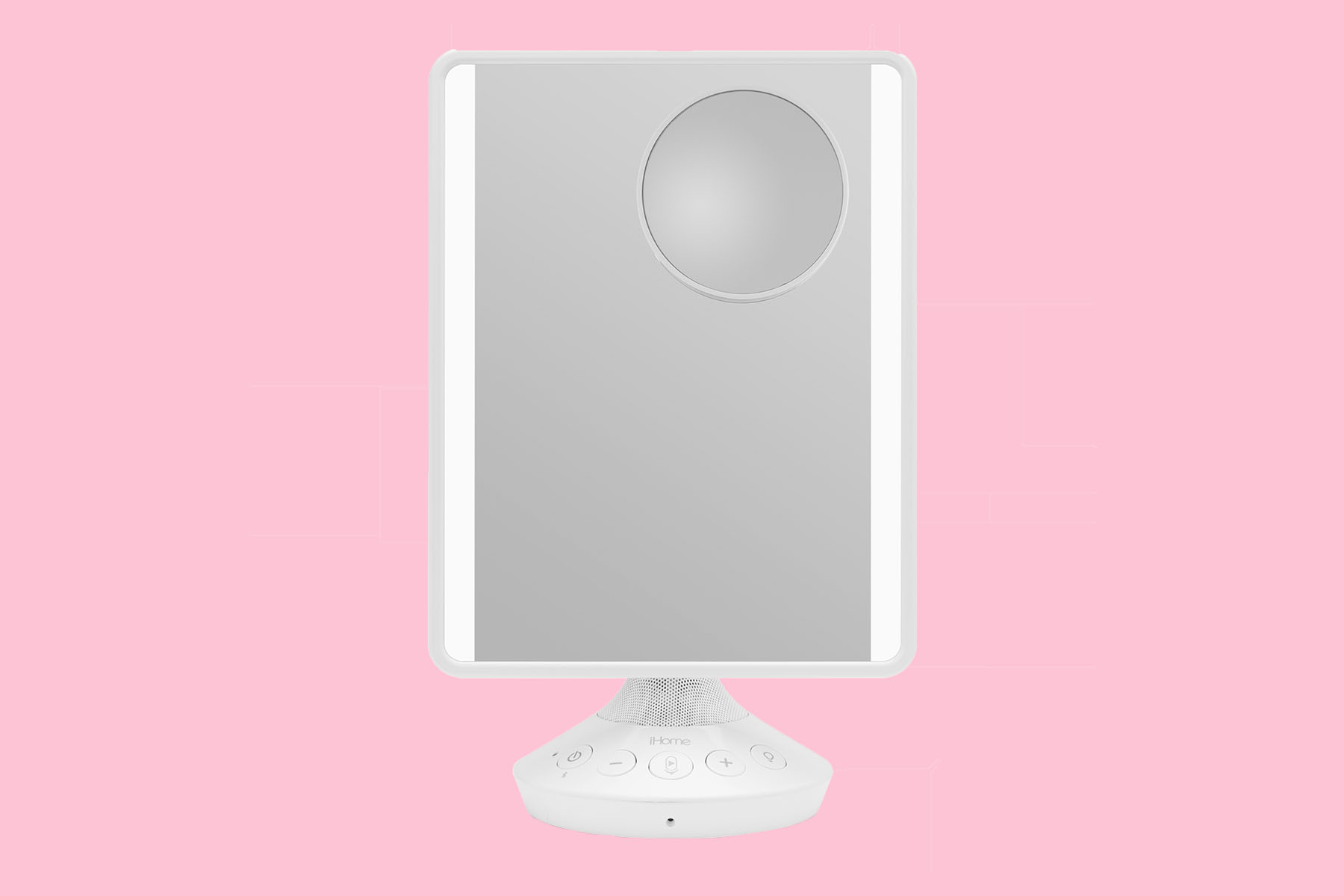 iHome Vanity Mirror with Bluetooth Speaker and USB Charging at Walmart