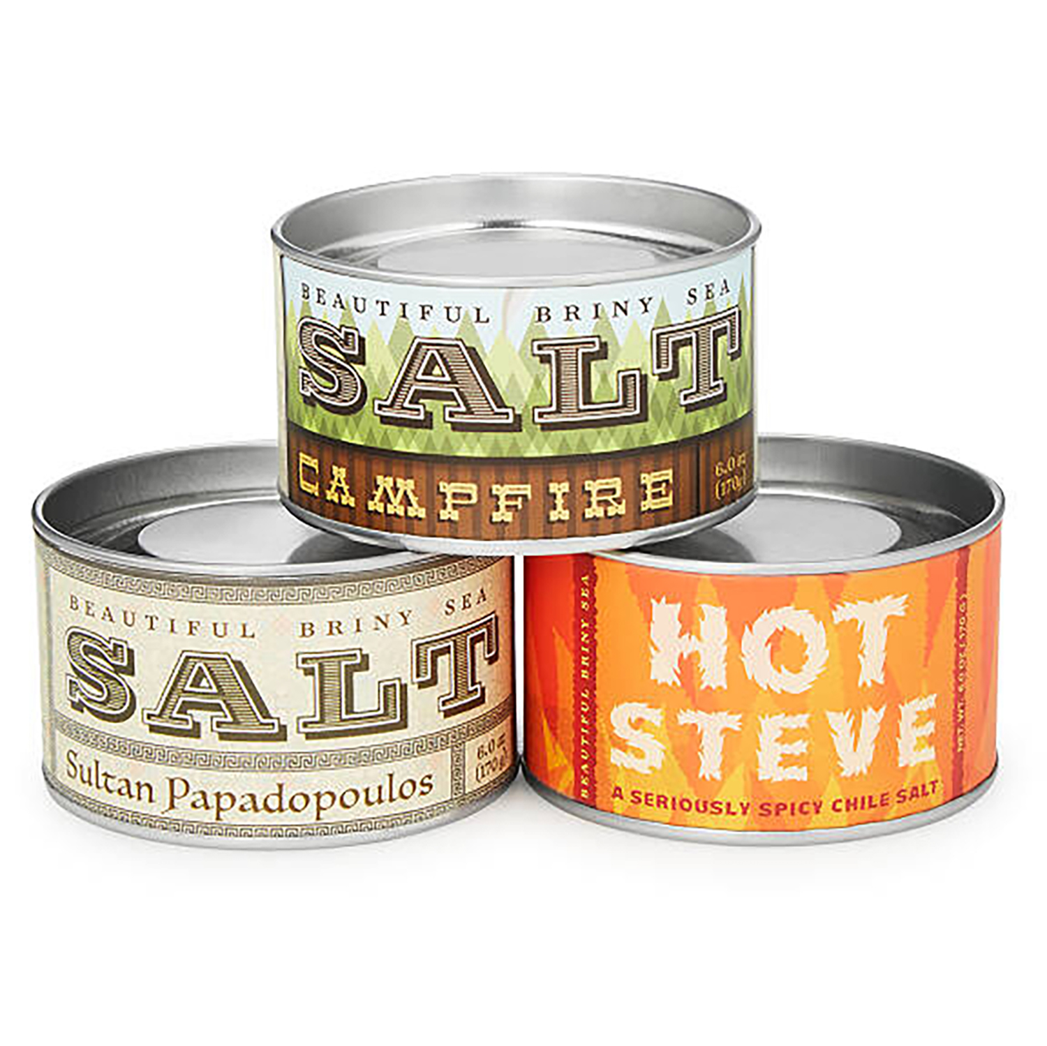 Christmas Gifts for Brothers: Bring the Heat Sea Salt Set