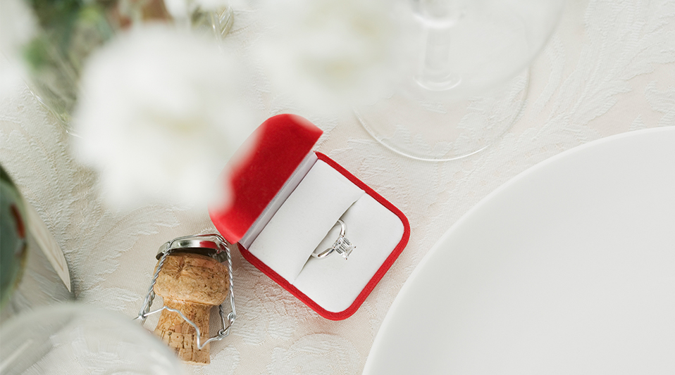 Christmas Day is the most popular day to get engaged, according to WeddingWire