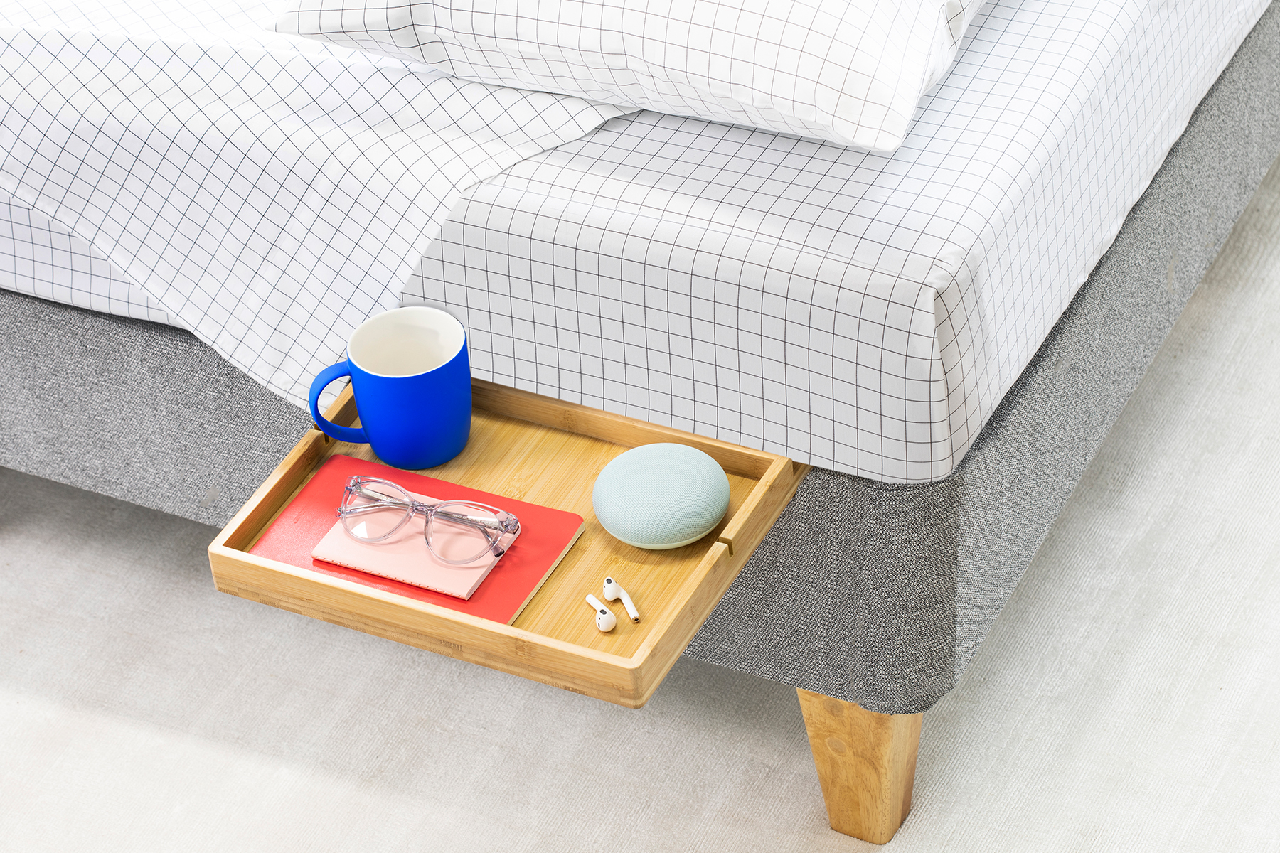 This Floating Shelf Is the $30 Trick to Keeping Your Bedside Organized