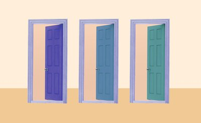 Trend Alert Painted Interior Doors Are The New Accent Wall