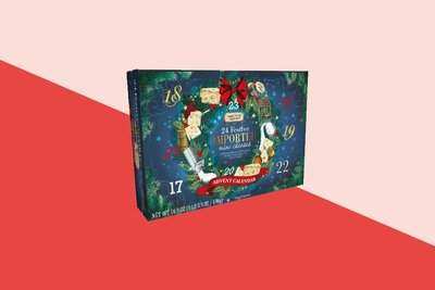 Aldi Cheese Advent Calendar.Our Cheese Advent Calendar 2018 Was So Good I Devoured It Real Simple
