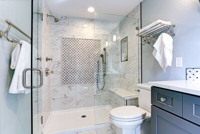 Bathroom Design Tricks For A Cleaner Looking Real