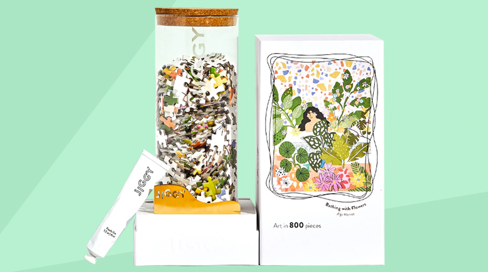 Best Christmas gifts, top presents 2019 - Jiggy Puzzles Bathing with Flowers tout