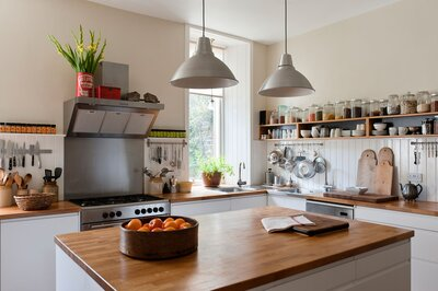 Butcher Block Countertop or Wood Countertops: What to Know ...