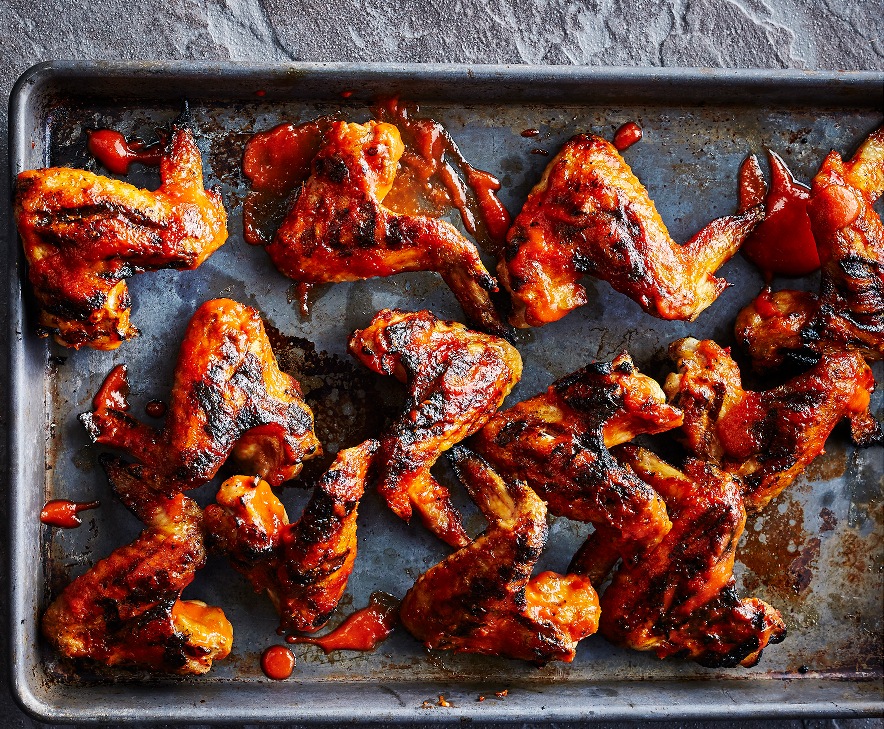 Chicken wings recipes - Cherry Bourbon chicken wings tout