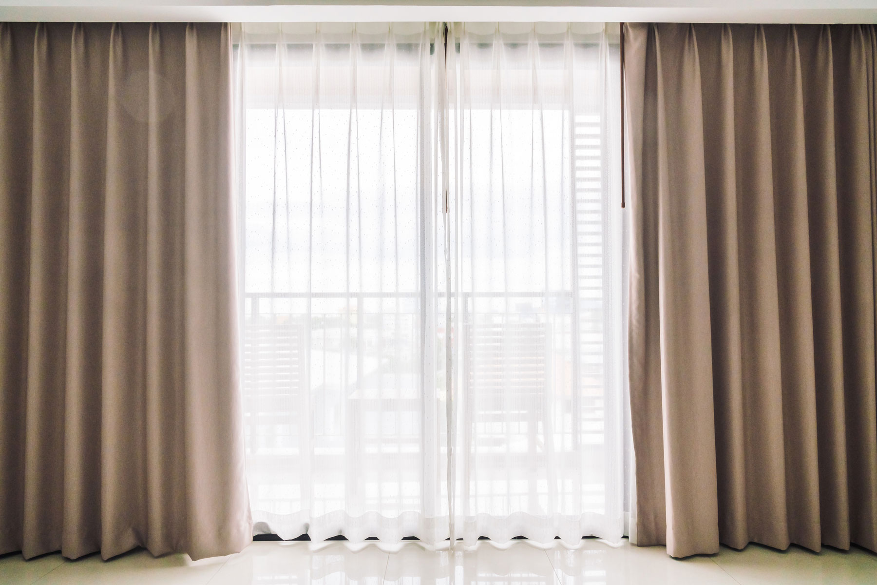 Curtains and Window Treatments Guide - How long should curtains be