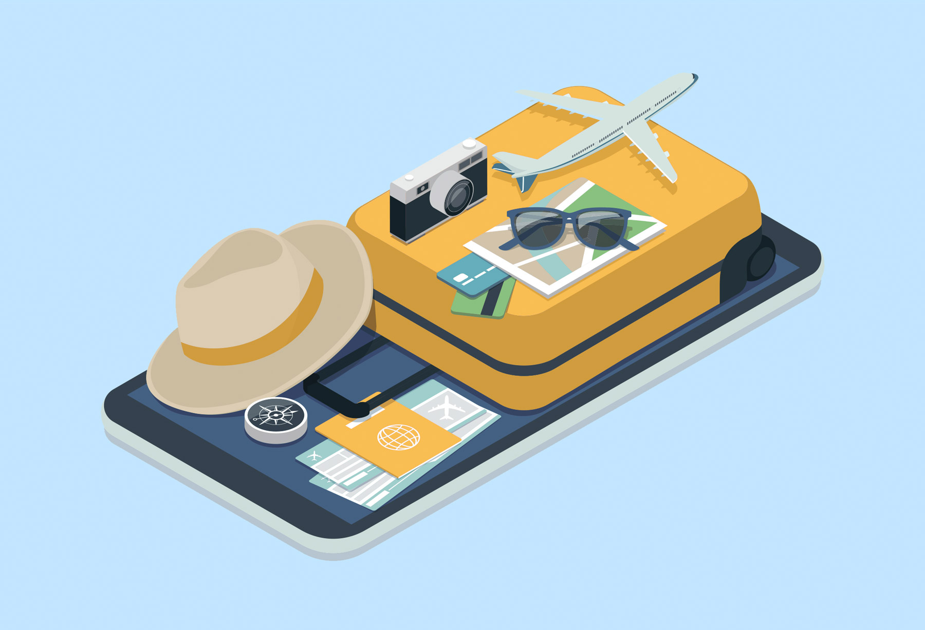 Flight booking sites and apps - websites and apps to help book a flight