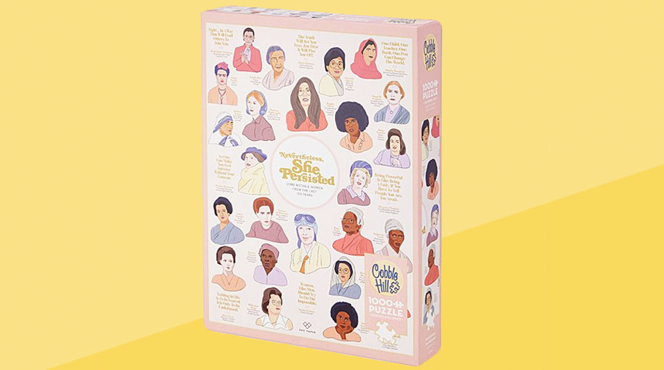 Galentine's Day gifts - women's empowerment puzzle
