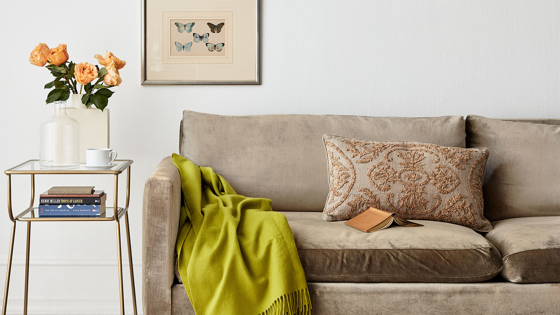 9 Simple Ways to Spruce Up an Old Sofa
