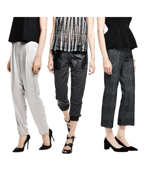 3 types of pants