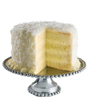 We Take the Cake Coconut Layer Cake
