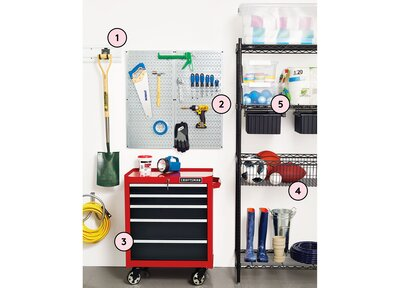 How To Organize Your Garage According To A Pro Organizer Real Simple