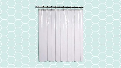 This 9 Shower Curtain Liner Is Mildew Resistant Real Simple
