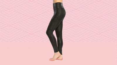 bdc52a0990 These SPANX Moto Leggings Are So Comfy, They're All I Wear | Real Simple