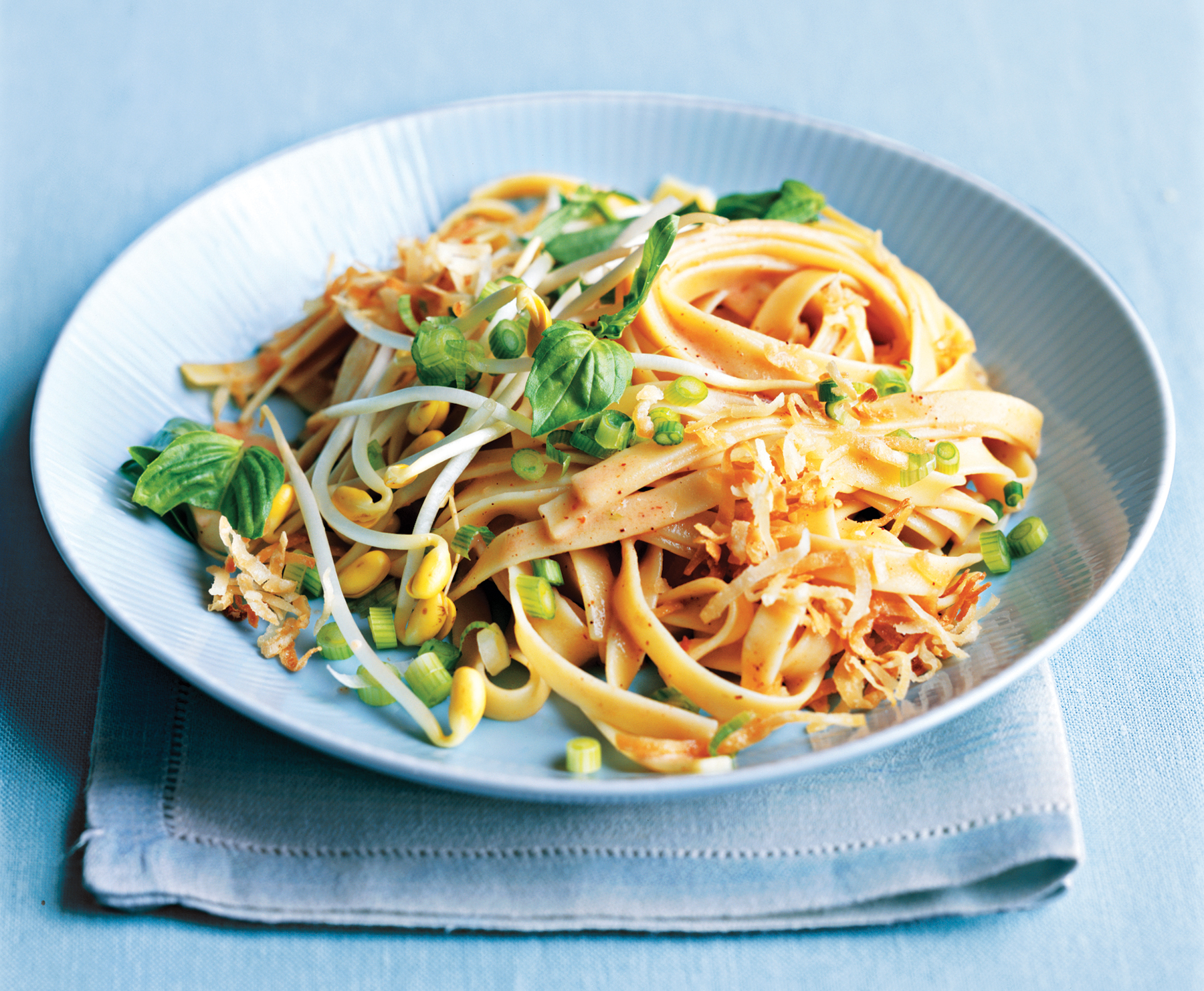 Spicy Coconut Noodles