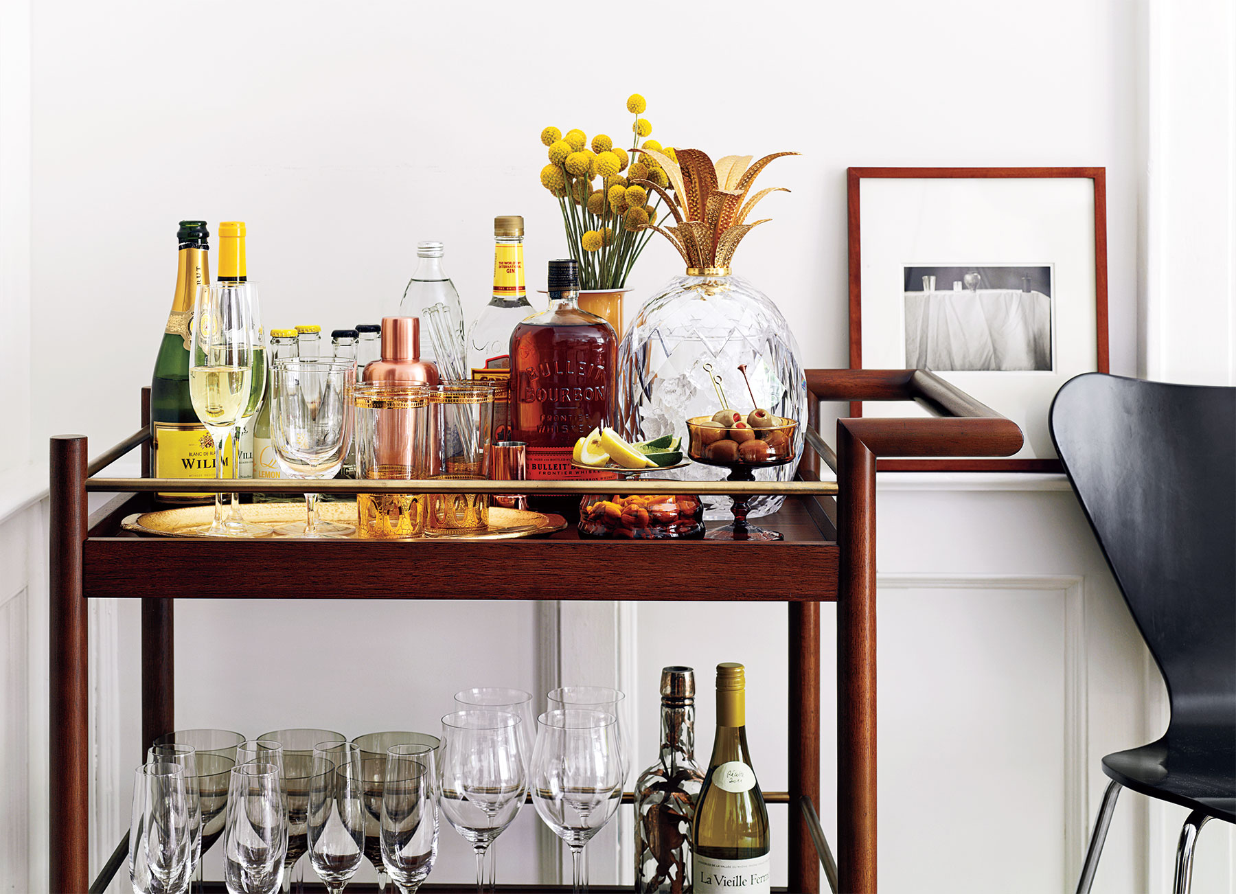 Party bar cart