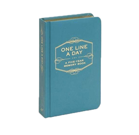 White elephant gift ideas - One Line a Day Five-Year Journal
