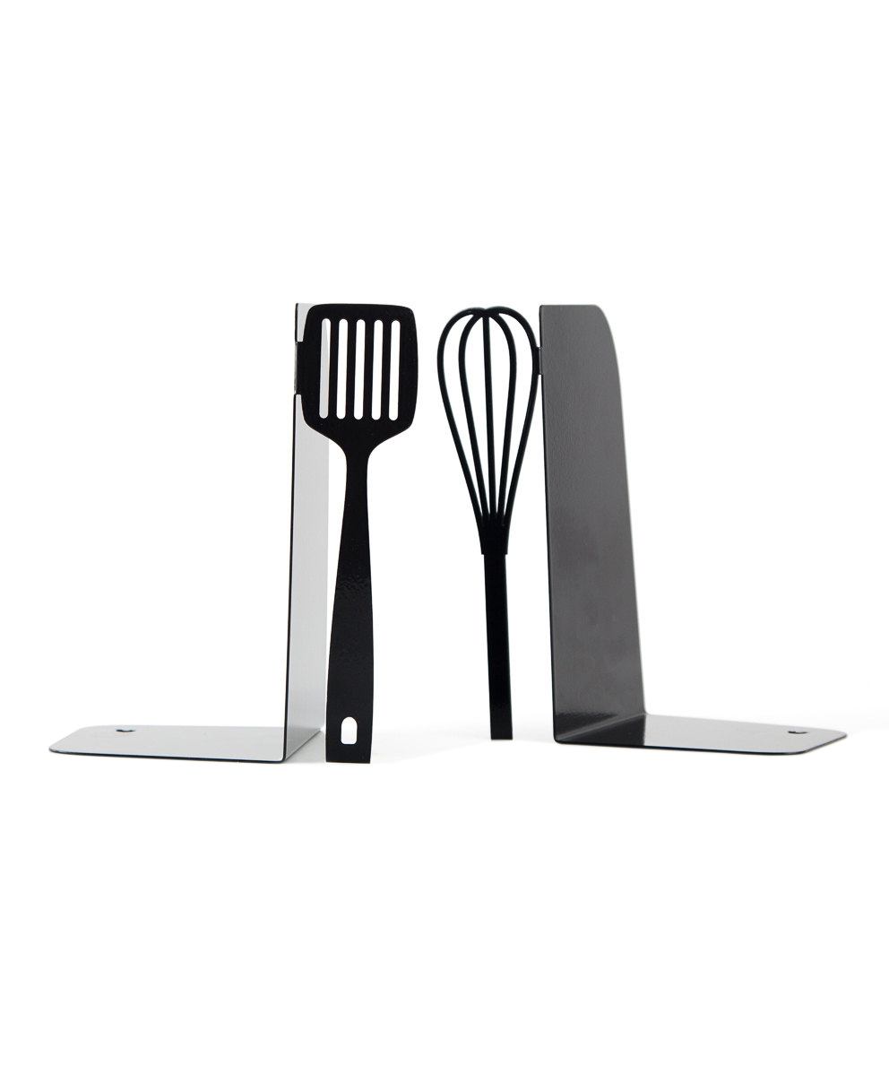 Metal Kitchen Bookends