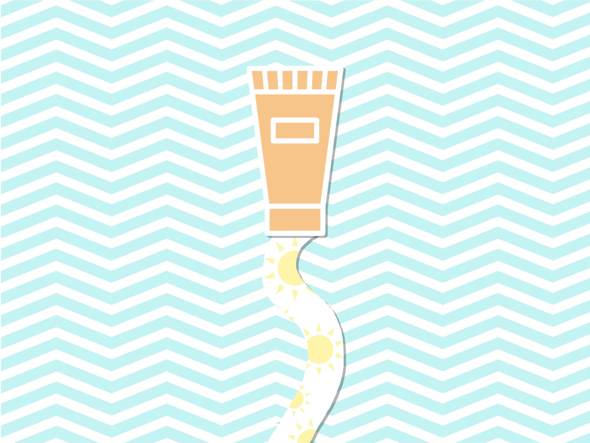 7 Self-Tanner Mistakes Everyone Makes - Plus, How to Fix Them (illustration of self-tanner and sunshine)