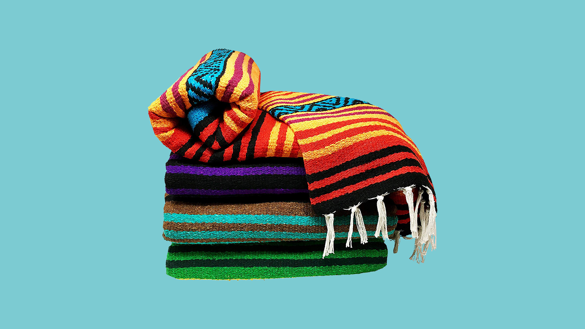 Bodhi Blanket Mexican Style Throw Blanket