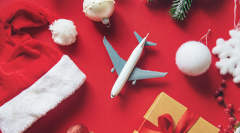 Flight attendants' tips for traveling with holiday presents
