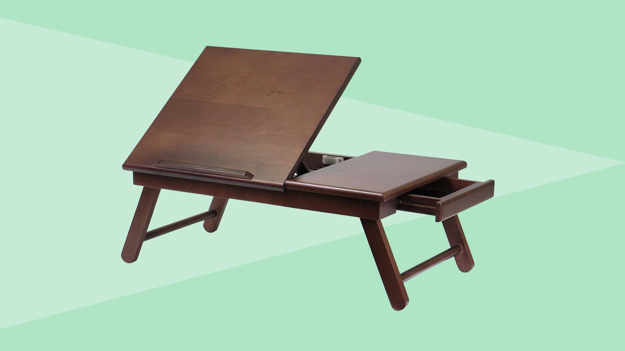 Winsome Alden Bed Tray, Walnut Tout