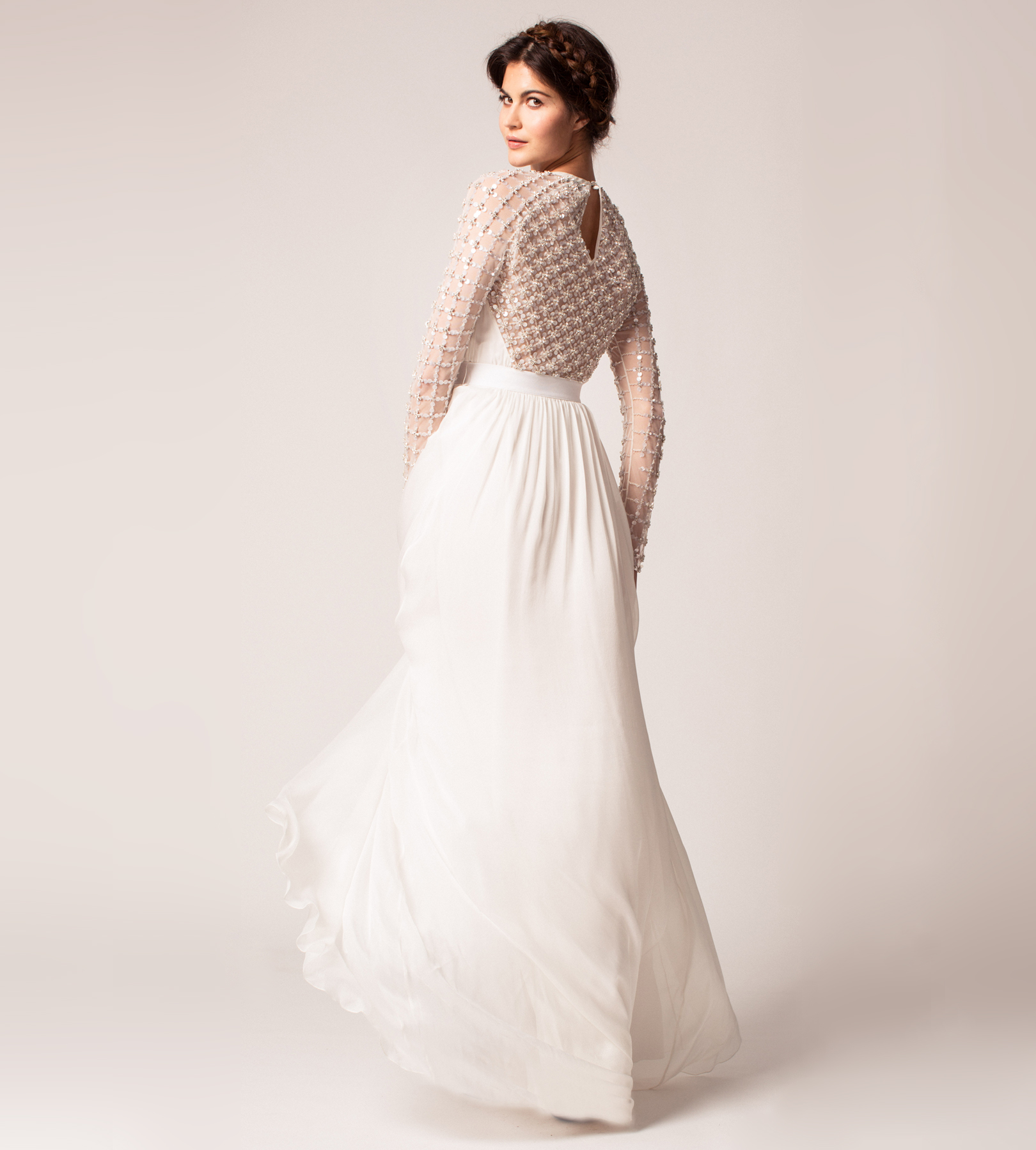 Alice Temperley wedding dress back