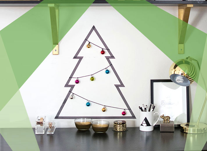Alternative Christmas trees - simple Christmas tree ideas