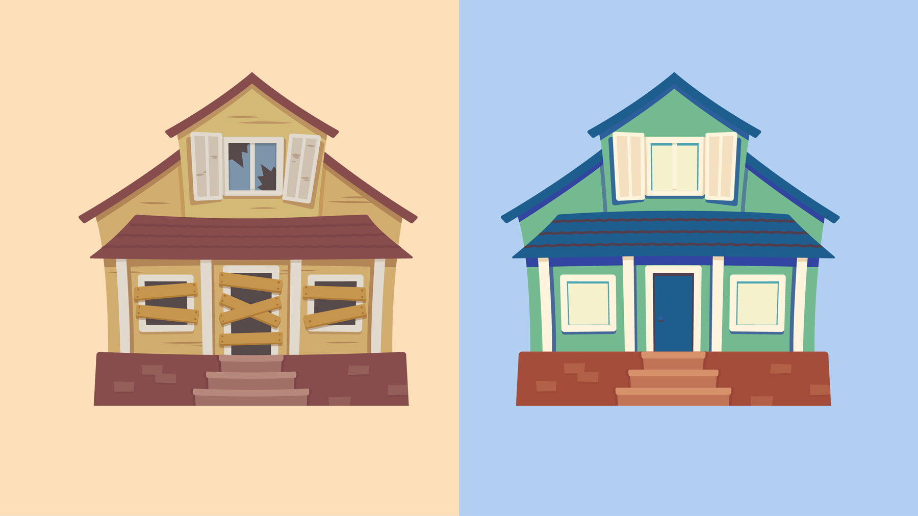 Buying a house in need of renovations - fixer upper home