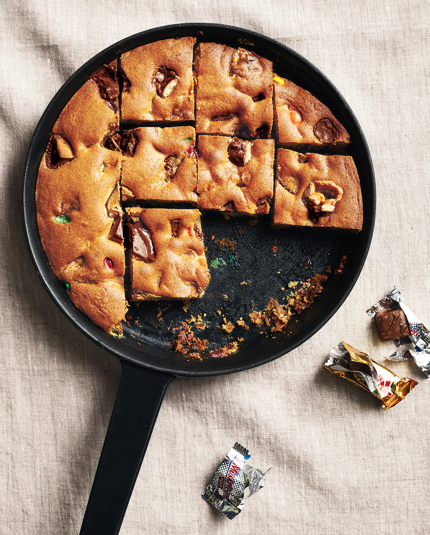 Cookie Cake Recipe Using Leftover Candy