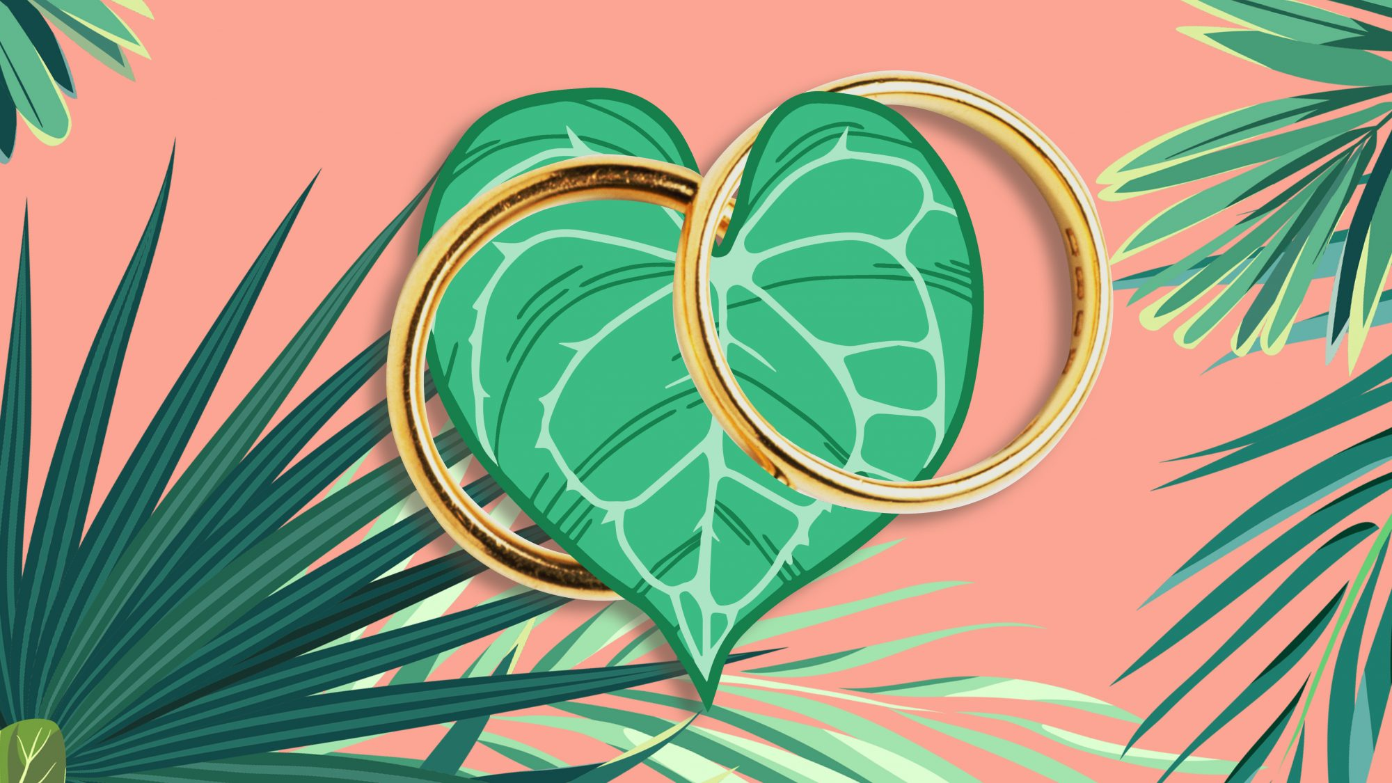 green wedding hacks products tricks zero-waste-wedding rings bands