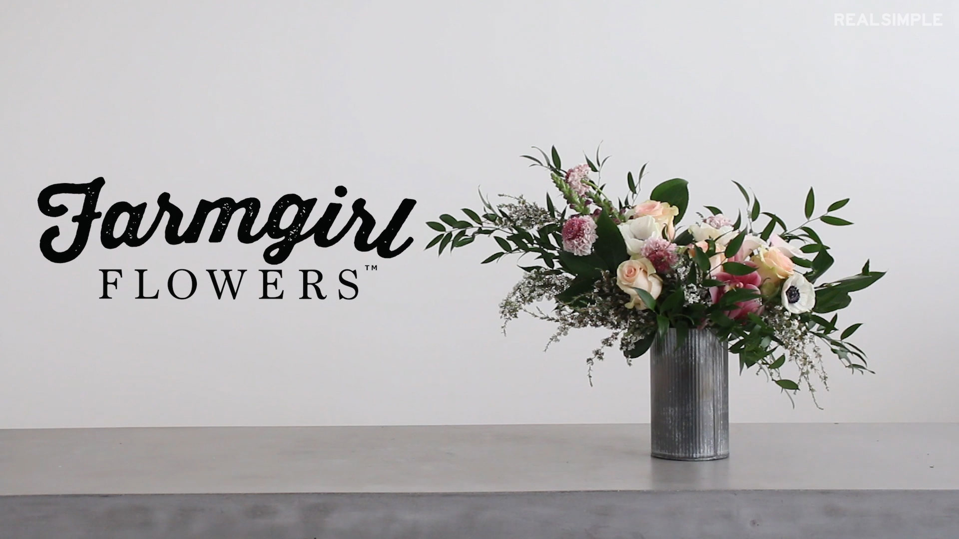 Farmgirl Flowers Bouquet How-To