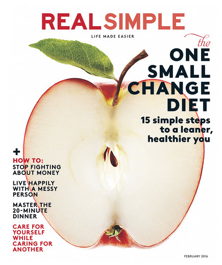 Real Simple February 2016 Cover