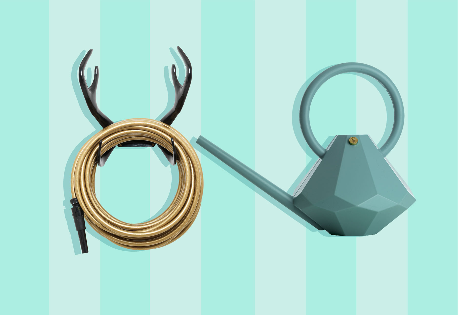 Cool garden tools - garden glory gear watering can and hose tout