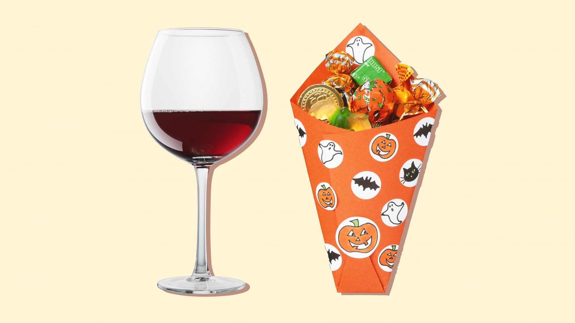 The Best Wines to Pair With Halloween Candy