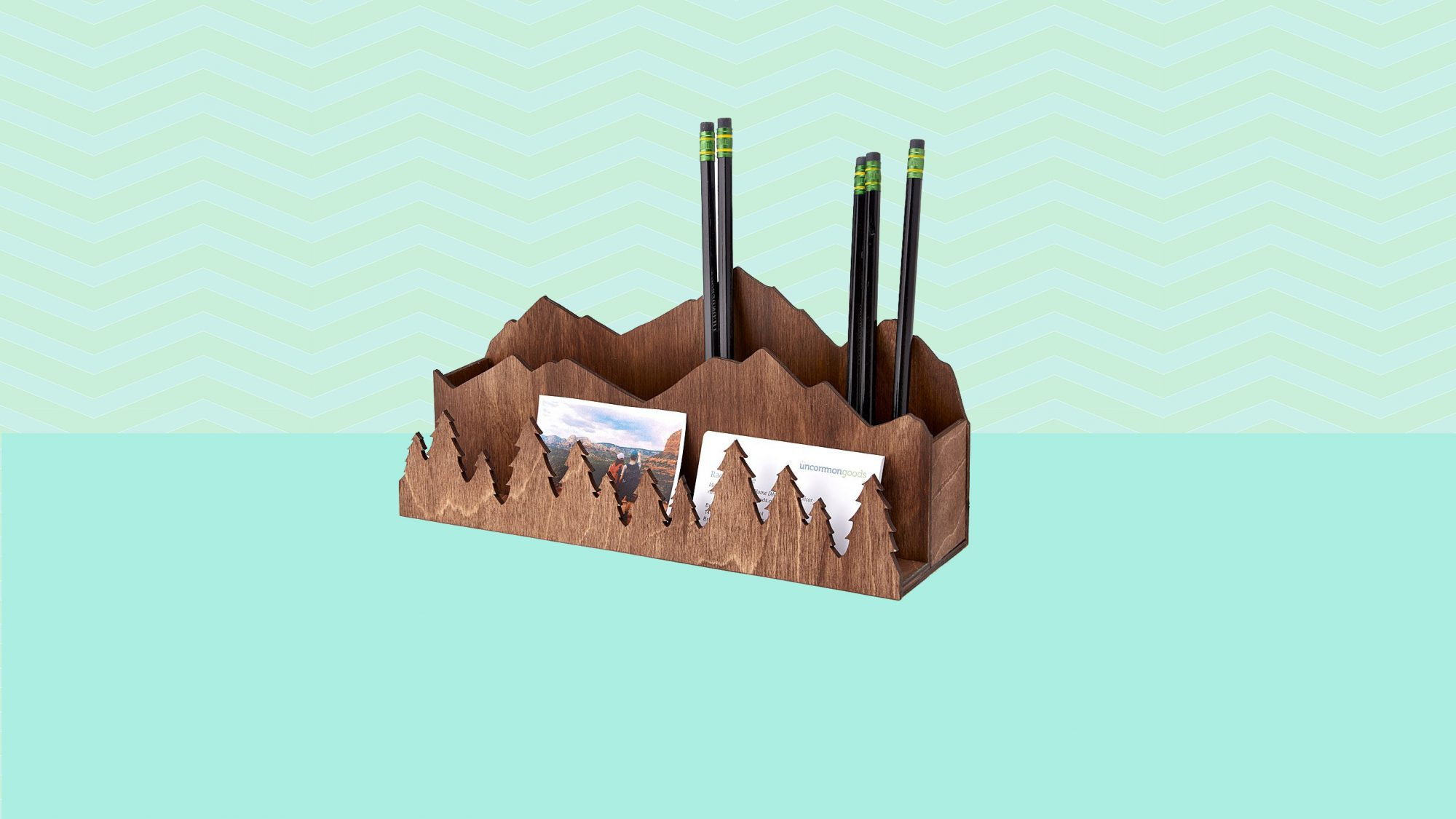 Best Desk Organizers, mountain range desk organizer