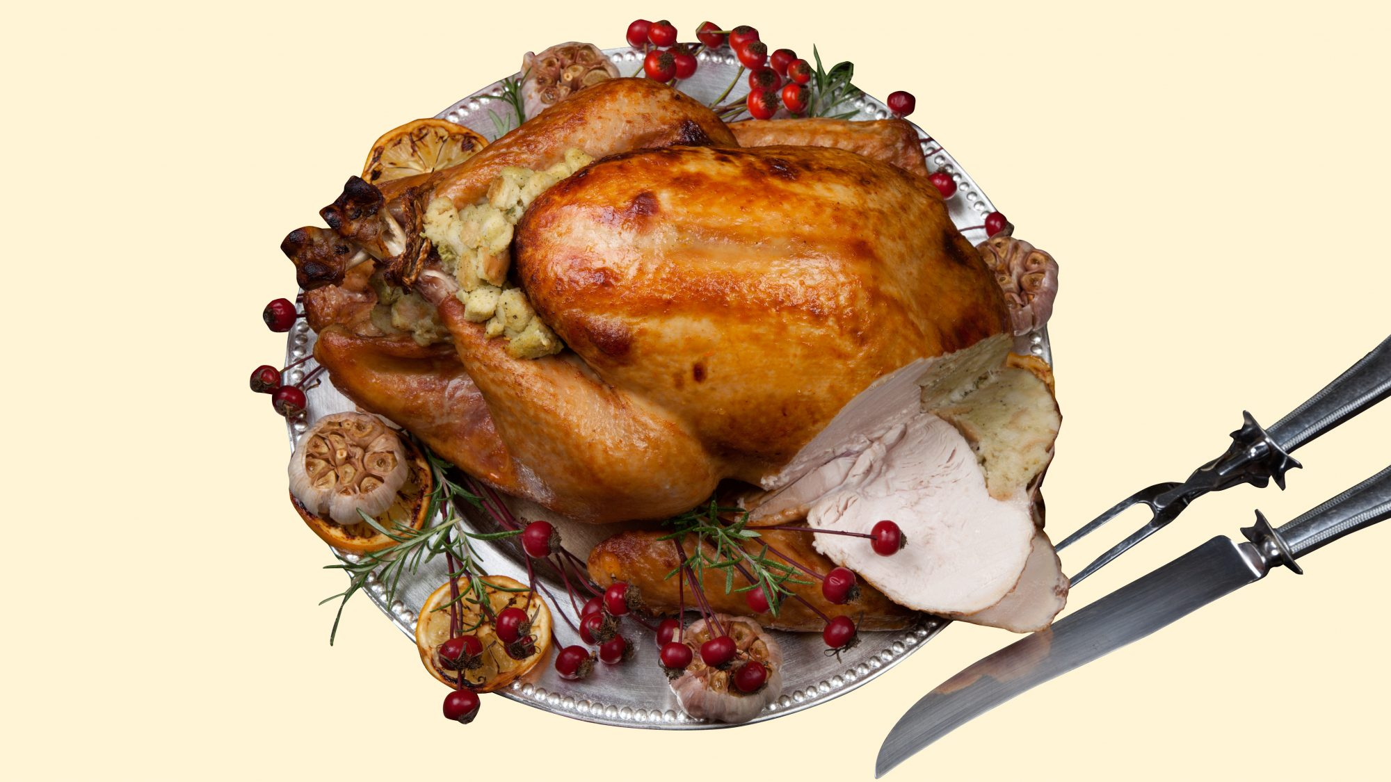 how to carve a turkey, step by step (video)