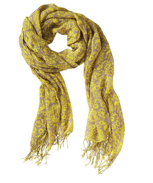 Old Navy Two-Tone Printed Scarf